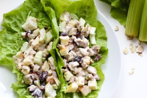 Vegan Tuna Salad Lettuce Wraps