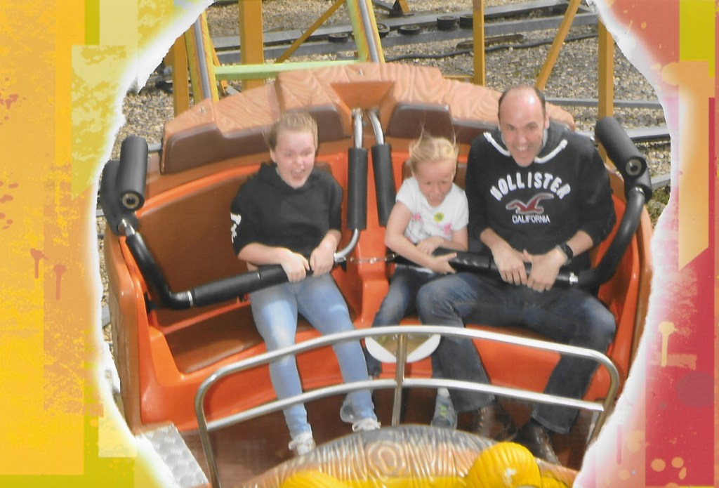 Lightwater Valley Theme Park The Twister ride photo