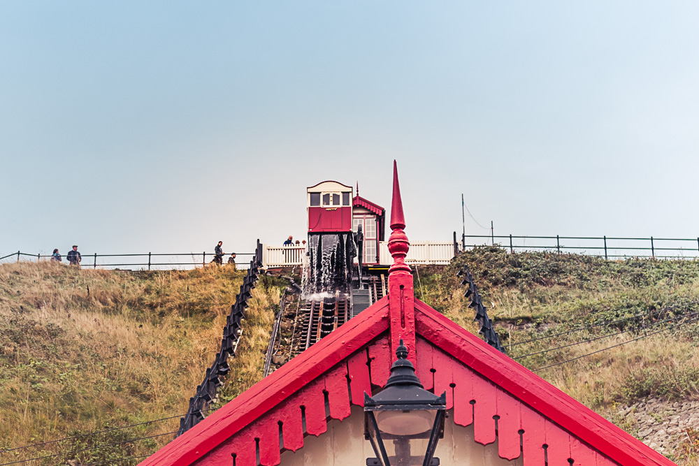 Saltburn-by-the-Sea water balanced cliff railway