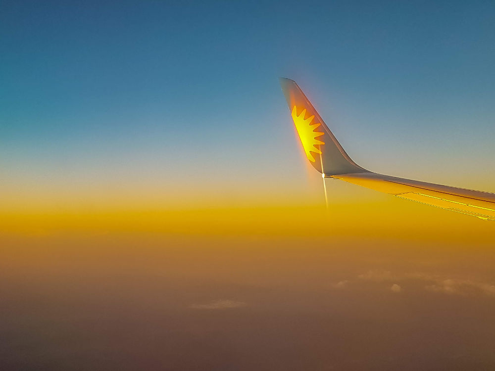 A Month in Photos – September 2018 | Yorkshire Dad of 4 | holiday Jet2 aeroplane wing tip
