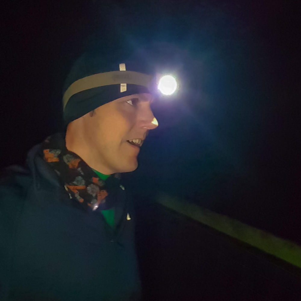 Running in the Dar - Petzl TACTIKKA+ head torch - The Yorkshire Dad of 4