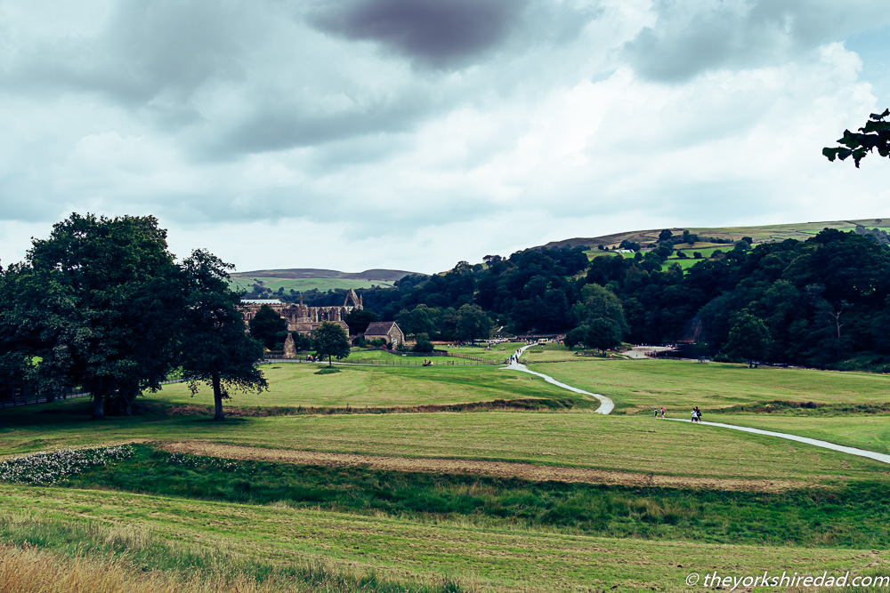 View of Bolton Abbey | The Yorkshire Dad of 4