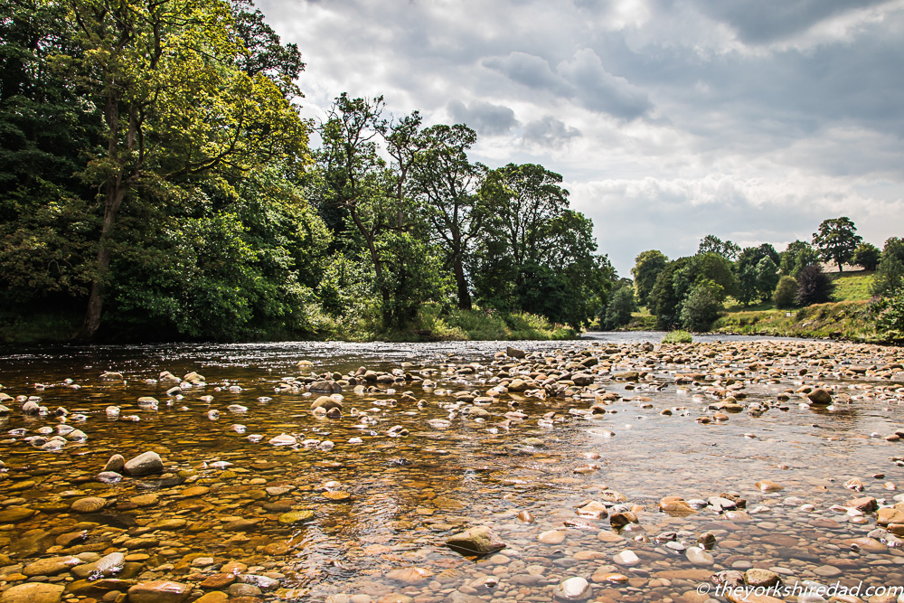 River Wharfe at Bolton Abbey | The Yorkshire Dad of 4