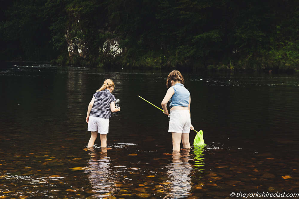 Fishing in the River Wharfe at Bolton Abbey | The Yorkshire Dad of 4