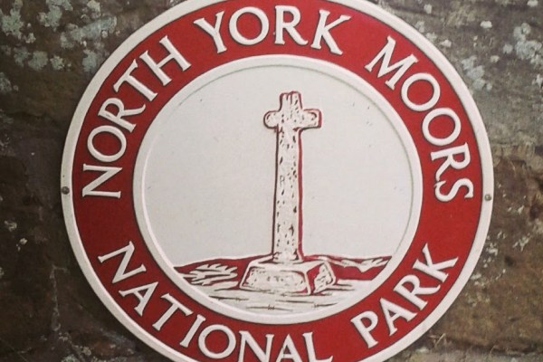 North York Moors National Park sign | The Yorkshire Dad of 4