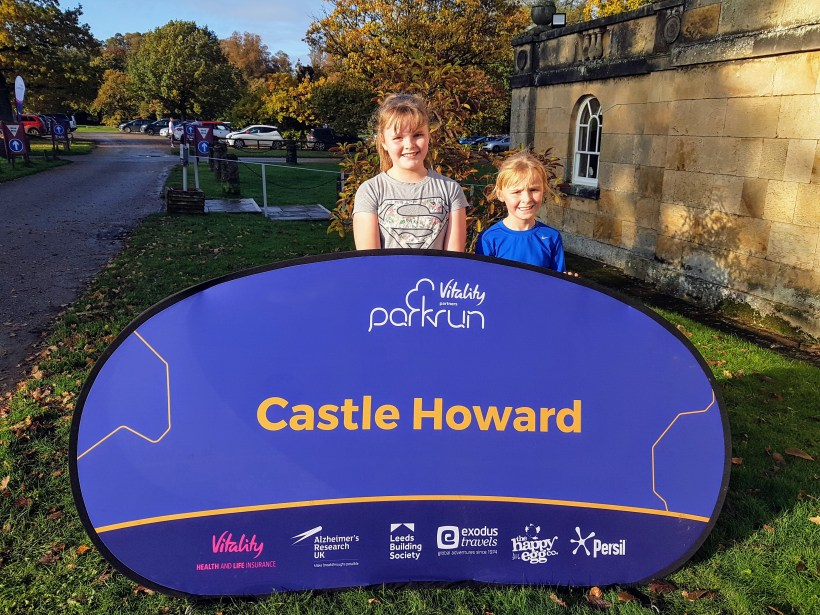 Castle Howard parkrun | The Yorkshire Dad of 4