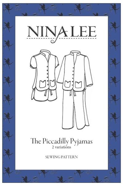 Front cover of Nina Lee Piccadilly Pyjamas