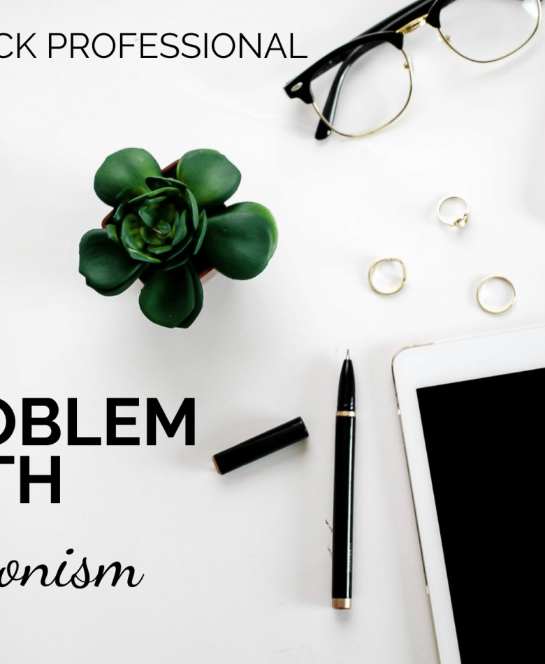 the problem with perfectionism the young black professional