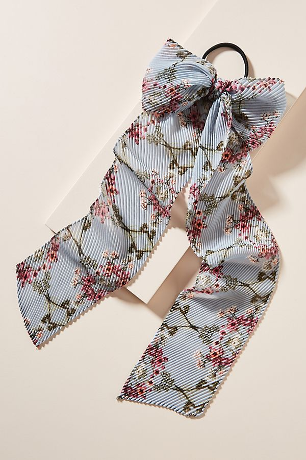 anthropologie hair bow cute floral accessories fashion style valentine's day love quirky sweet