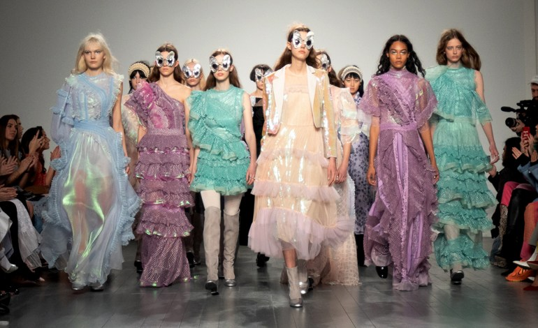 Cool Aliens and Dreamy Mermaids Only At Bora Aksu Fall 2019