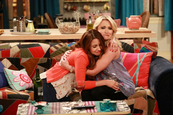 """YOUNG & HUNGRY - """"Young & How Gabi Got Her Job Back"""" - Gabi returns from Switzerland and is nervous to see Josh on the summer premiere of ABC Family's original comedy """"Young & Hungry,"""" airing on Wednesday, August 19th at 8:30 p.m. ET/PT. (ABC Family/Ron Tom) AIMEE CARRERO, EMILY OSMENT"""