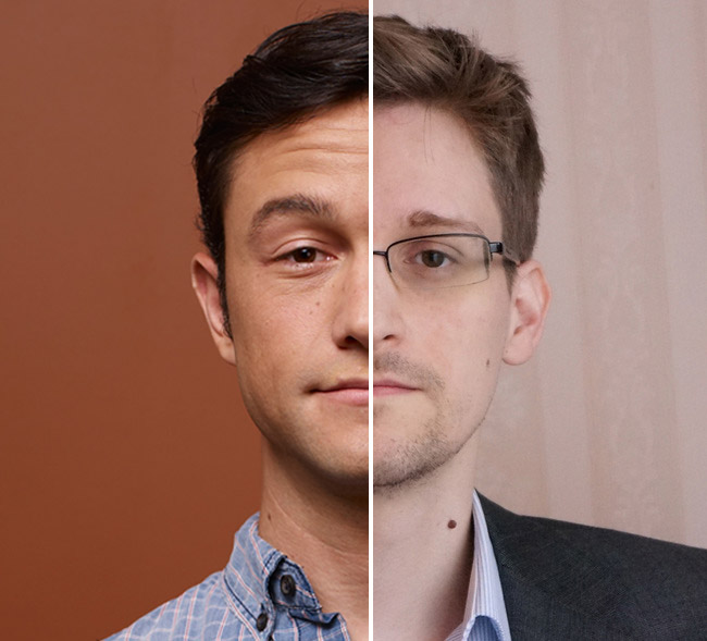 Comparing Snowden and Citizenfour