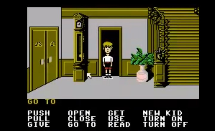 maniac-mansion__video-game_mansion-entrance_options