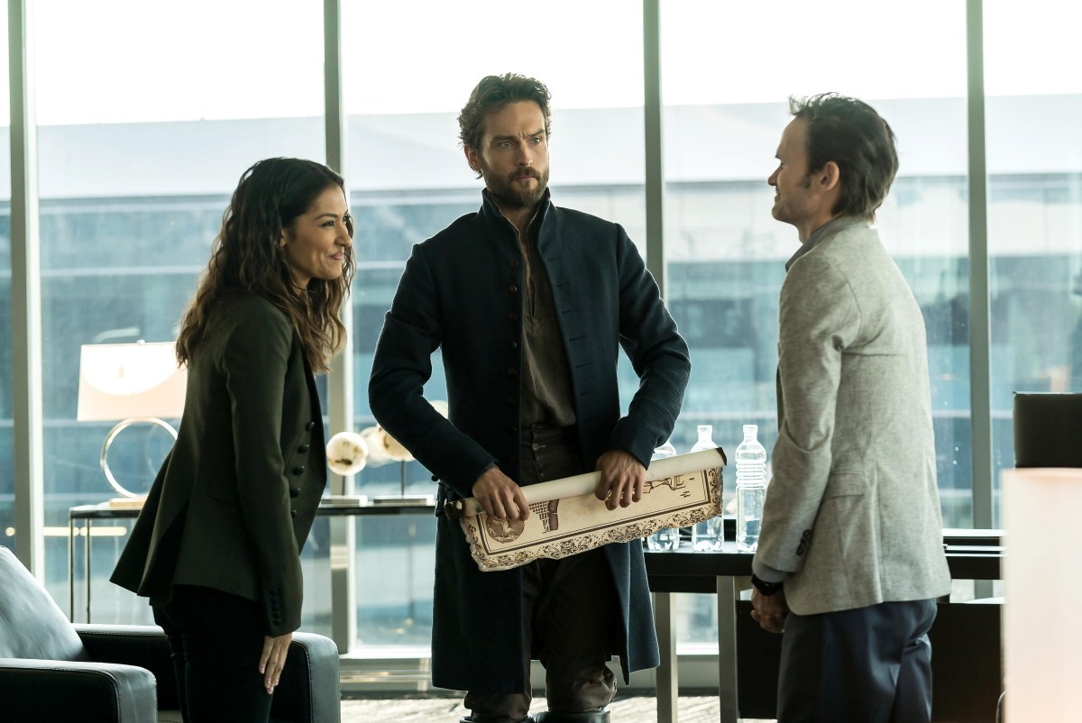 "TV Review: Sleepy Hollow 4x03 ""Heads of State"""
