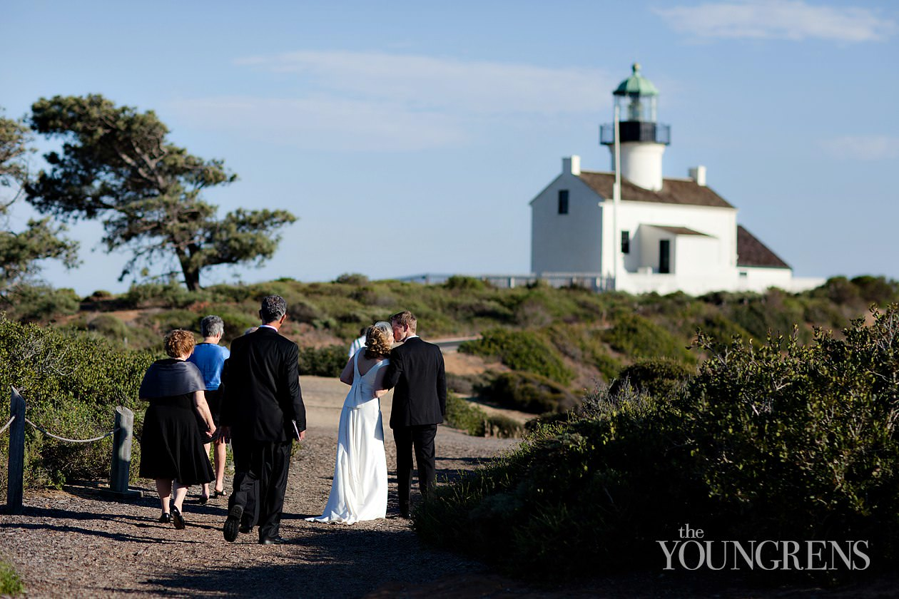 Cabrillo National Monument Wedding Joe And Alison The Youngrens San Diego Photographers
