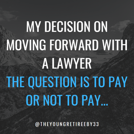 Paying A Lawyer