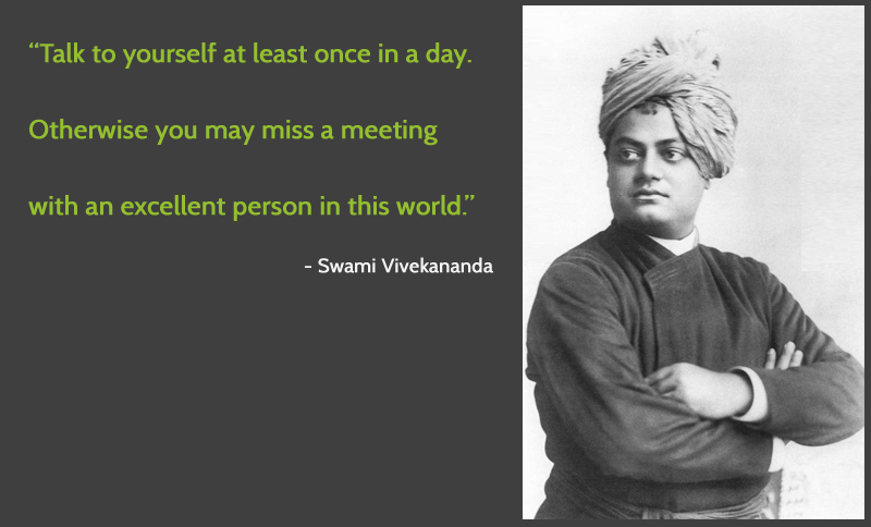 Image result for swami vivekananda talk to yourself quote