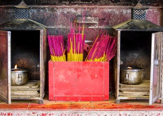Burning Incense