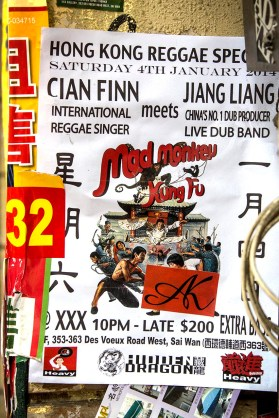 Reggae Kung Fu Action