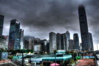 Storm Over Hong Kong