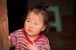 Little Mongolian Girl