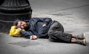 Homeless in Sao Paulo, Brazil.