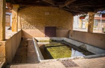 In the middle ages, women came to this surviving community bath to wash clothes and to bathe.