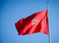 Moroccan flag.
