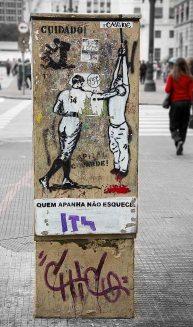 Brazilian street art.