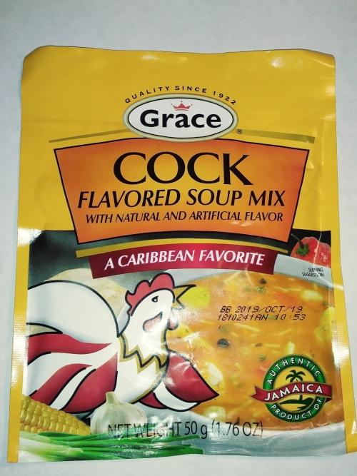 grace cock flavored soup mix 176 oz  they source