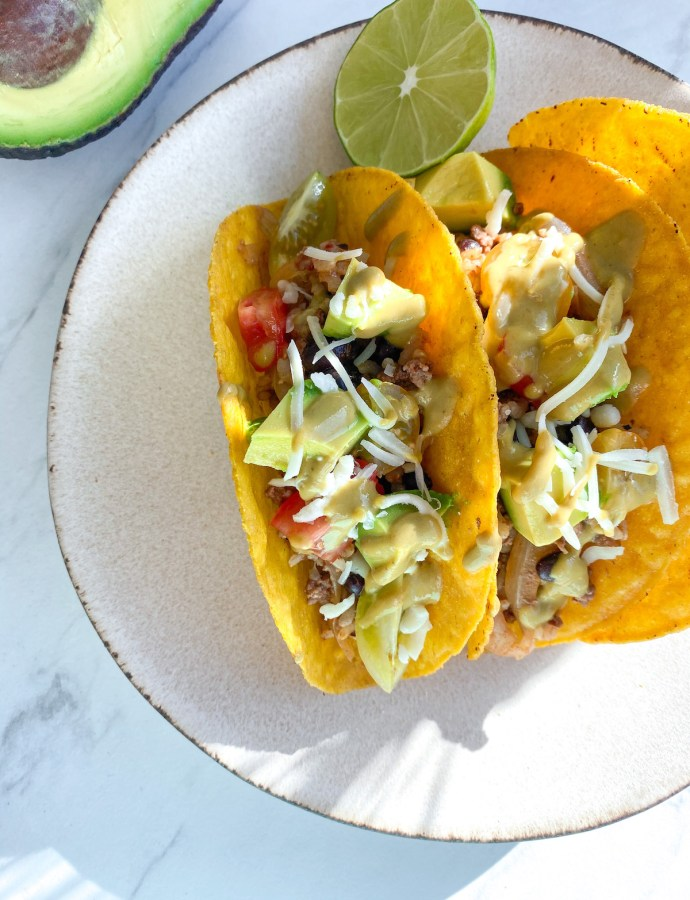 Healthy Beef And Rice Tacos