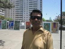 Iftikhar Ahmed, internationally known Bangladeshi artist