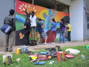 2014: Welcome Home, BMO Seeds Fund Award winning youth mural project