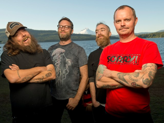 Portland rockers Red Fang have the antidote for what ails you including new tunes and red wine