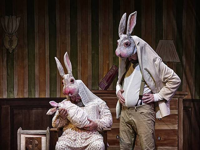 The nonsense of Lewis Carroll's Jabberwocky makes perfect puppet sense to the Old Trouts