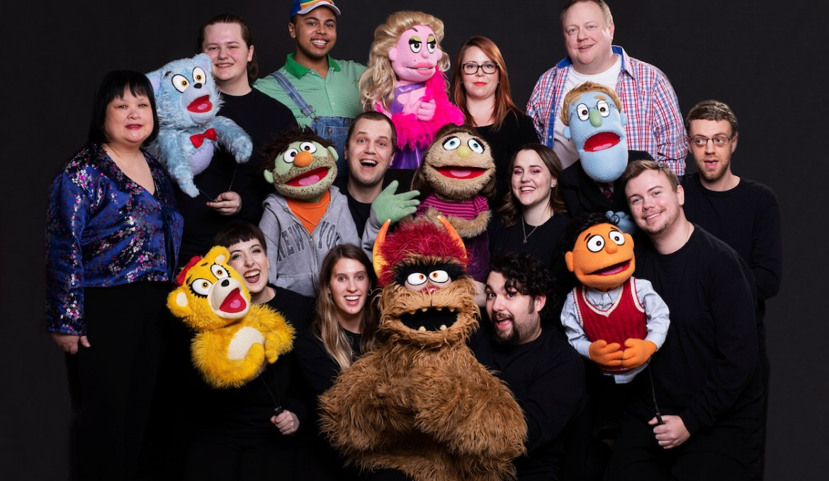 Avenue Q a sassy, adult-oriented take on a beloved children's show