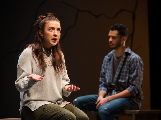 ATP's Actually a challenging production that puts the onus on the audience's point of view