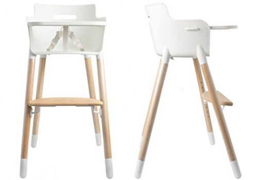 high chairs for babies crate and barrel slipcover chair top 10 wooden baby of 2019 reviews thez7 asunflower