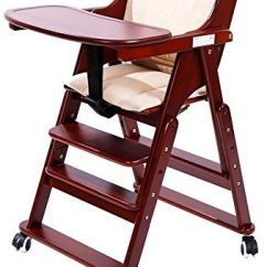Wooden High Chairs For Babies Vinyl Lawn Chair Webbing Replacement Top 10 Baby Of 2019 Reviews Thez7 Mallboo Solid