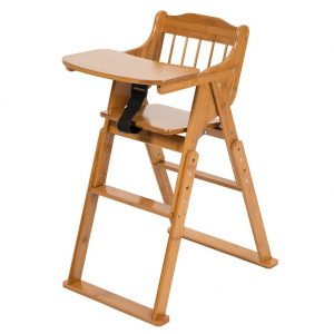 best folding high chair covers dublin top 10 baby chairs in 2019 review elenker wood with tray adjustable and foldable for babies toddlers