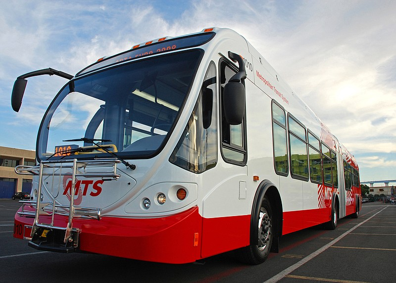 $41 Million for Electric Buses and Other Projects in San Diego