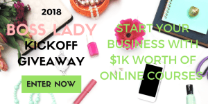 2018 BOSS LADY GIVEAWAY
