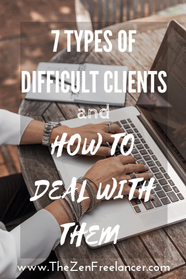 7 types of difficult clients and how to deal with them