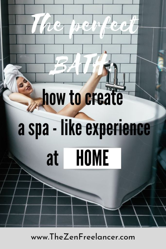 If you are looking for an effective way to relieve the stress, learn here how you can do this in your own bathroom! Prepare your perfect bath and spa-like experience at home to relieve the stress today! #HomeSpa #SpaLikeExperience #StressRelieve #DIYSpa