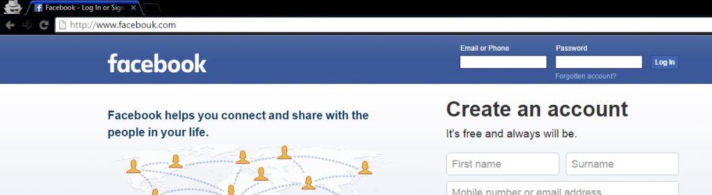 Phishing Someone's Facebook Account Password