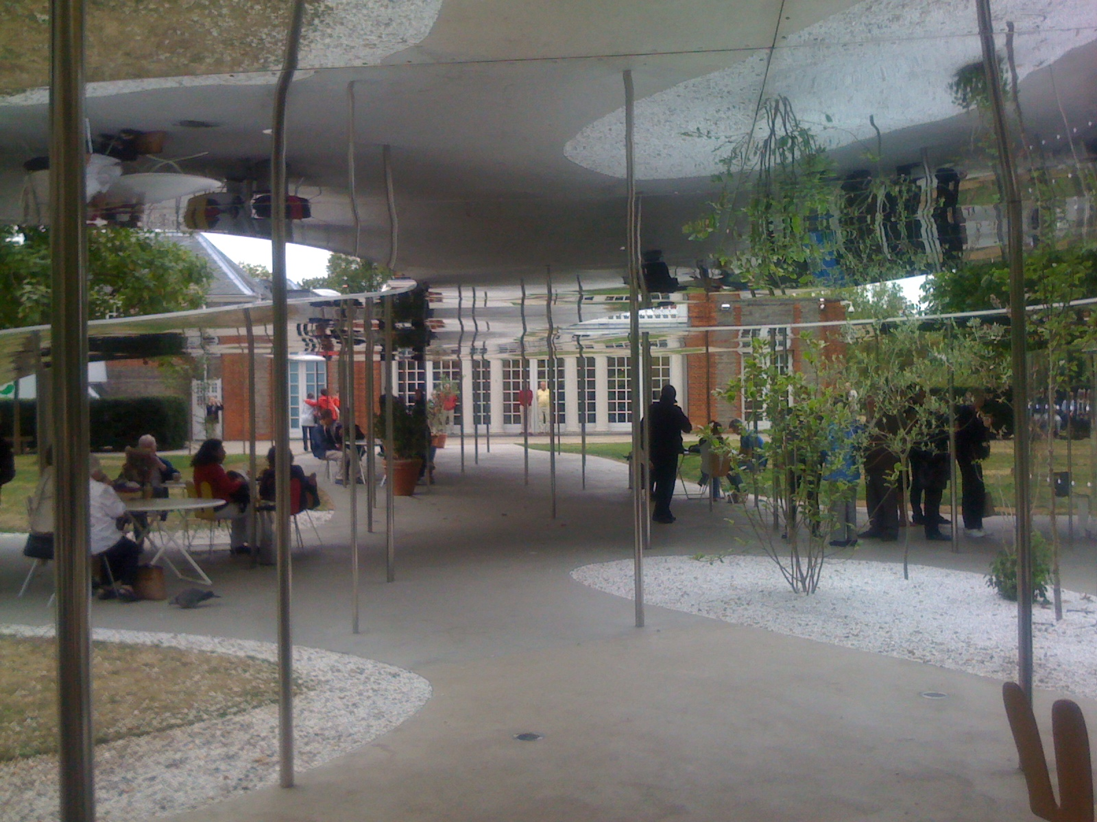 "The Serpentine Pavilion epitomizes ""affect"""