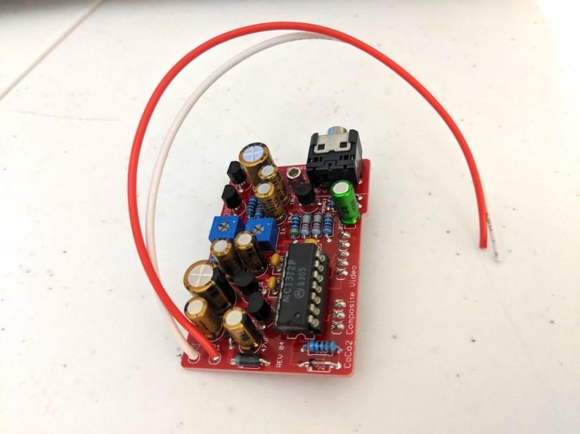 CoCo 2 Composite Video & Sound (Type A)
