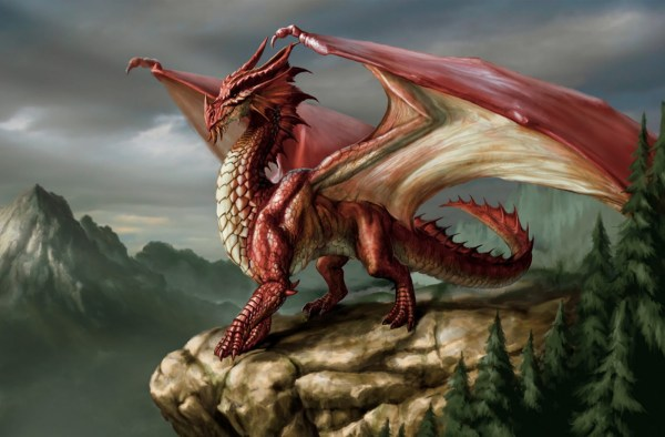 Anime Red Dragon