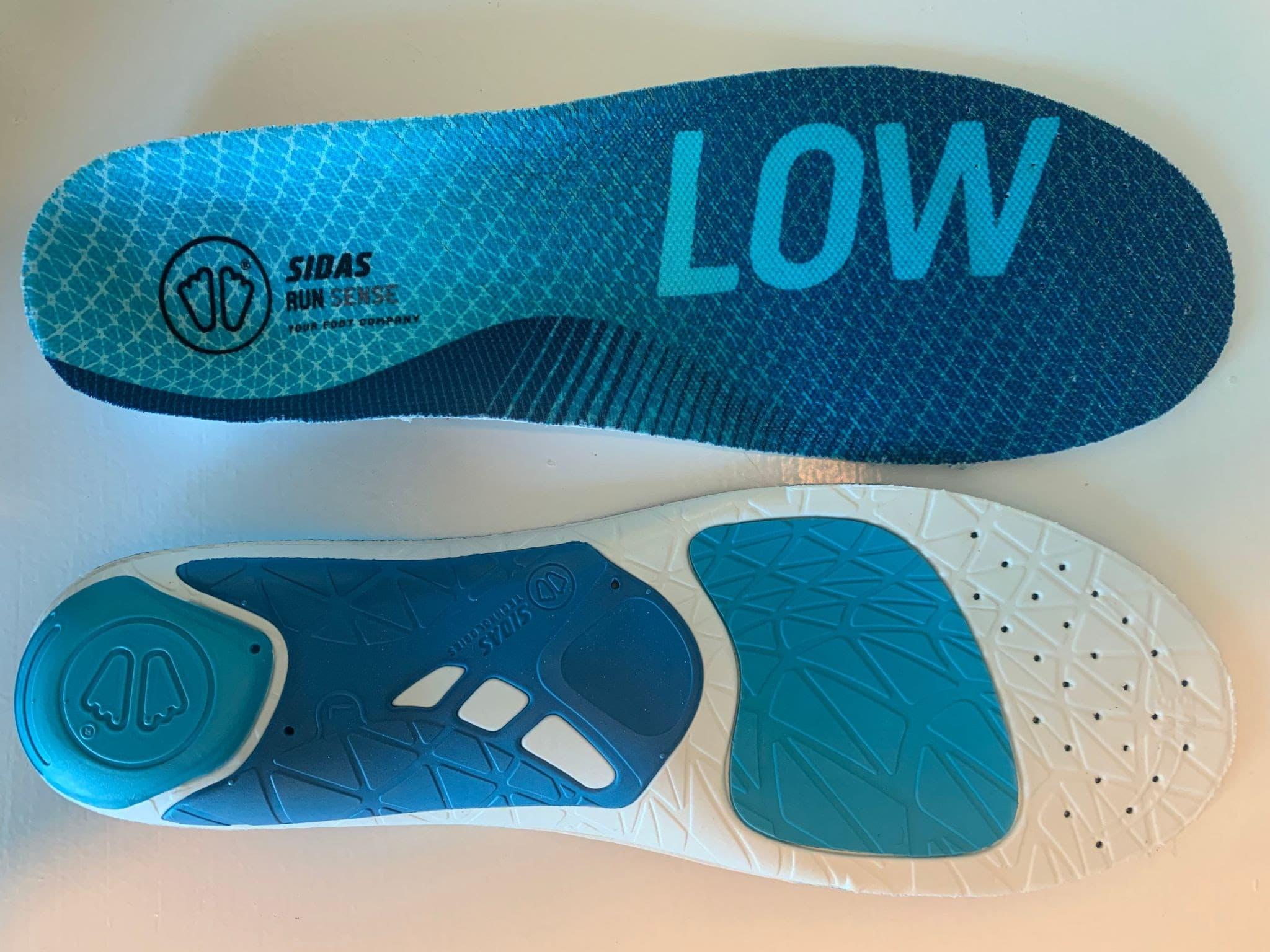 cycling shoe inserts blue