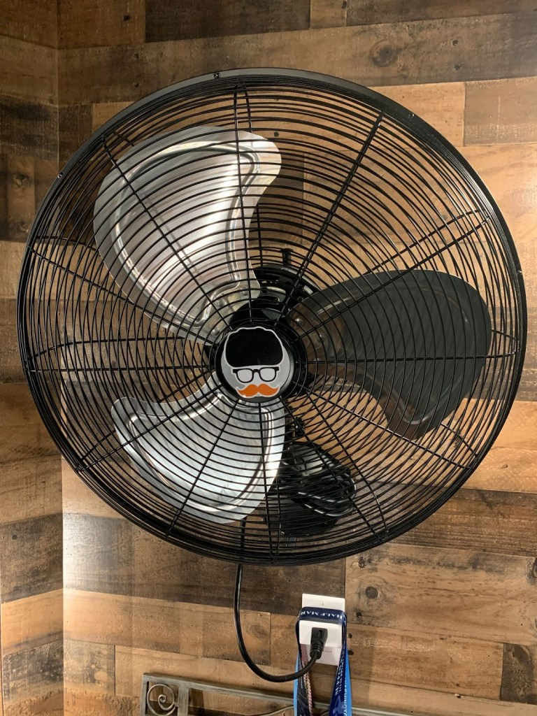 a fan will improve poor indoor air quality